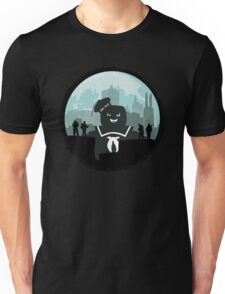 Ghostbusters versus the Stay Puft Marshmallow Man Unisex T-Shirt