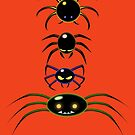 EEK!!! SPIDERS!! by Mike Cressy