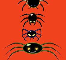 EEK!!! SPIDERS!! by Mike Cressy