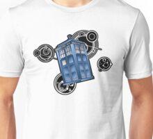 The Great Geometric Tardis Unisex T-Shirt