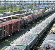 train yard full by mrivserg