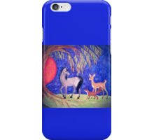 Horse and  Friends in the Spotlight iPhone Case/Skin