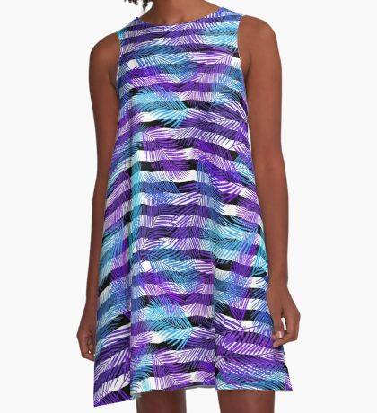 Bright tropical summer A-Line Dress