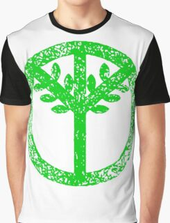 Tree Peace Symbol Rio 2016 Graphic T-Shirt