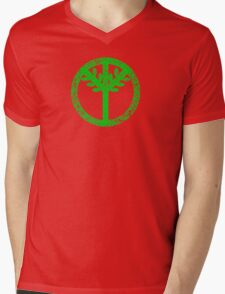 Tree Peace Symbol Rio 2016 Mens V-Neck T-Shirt