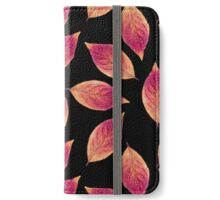 Leaves of Fire iPhone Wallet/Case/Skin
