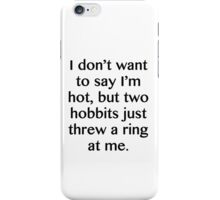 Two Hobbits. iPhone Case/Skin