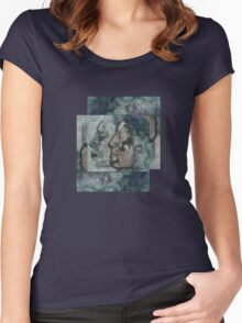 Lunar chameleon - Soulmates series Women's Fitted Scoop T-Shirt
