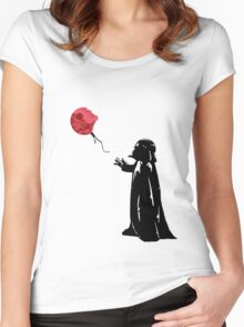 Little Vader Women's Fitted Scoop T-Shirt