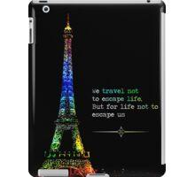 Rainbow Paris Travel iPad Case/Skin
