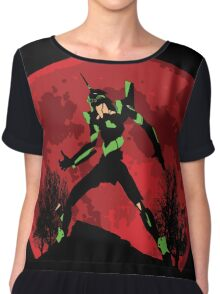 Neon Genesis Evangelion Unit 01 - Hill Top Chiffon Top
