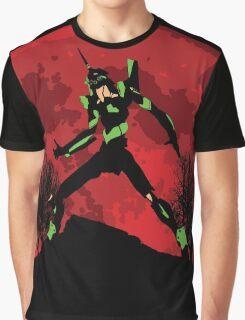 Neon Genesis Evangelion Unit 01 - Hill Top Graphic T-Shirt