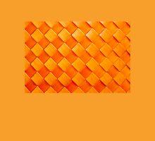 Orange squares, 3D textured background Unisex T-Shirt