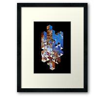 Ramblocks Framed Print