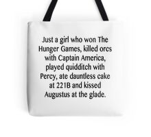 Just a girl... Tote Bag