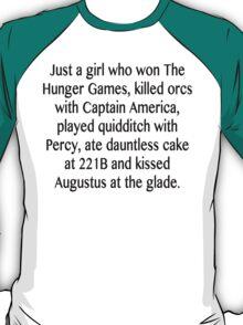 Just a girl... T-Shirt