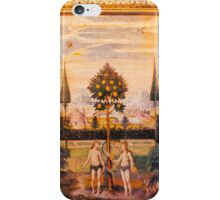 Adam and Eve Oil Painting iPhone Case/Skin