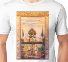 Adam and Eve Oil Painting Unisex T-Shirt
