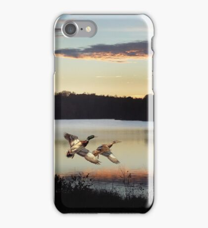 Twilight Flight iPhone Case/Skin