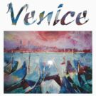 Venice Gondolas T Shirts & Clothing by Ballet Dance-Artist