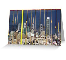 San Francisco Skyline Greeting Card