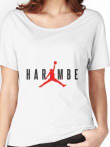 1160 Harambe X Jordan Women's Relaxed Fit T-Shirt