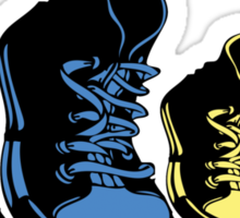 Colorful sneakers Sticker