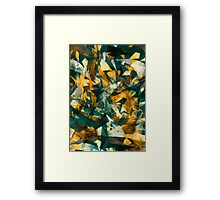 Raw Texture Framed Print