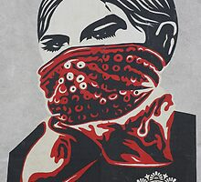 Shepard Fairey paste up London by ManwithaCamera