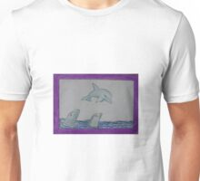 Dolphins - e-comic Knight Luminar II. The Beings of the Light Unisex T-Shirt