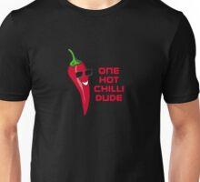 One Hot Chilli Dude - Cartoon T-Shirt Sticker Unisex T-Shirt