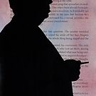 Alfred Hitchcock Silhouette Movie Director by Harvey Schiller