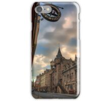 The Canongate Tolbooth, The Royal Mile Edinburgh iPhone Case/Skin