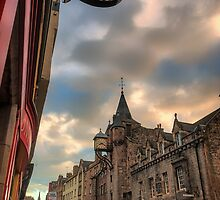 The Canongate Tolbooth, The Royal Mile Edinburgh by Miles Gray