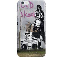 Banksy, Old Skool, London iPhone Case/Skin