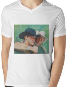 Tribute to Ennis Mens V-Neck T-Shirt