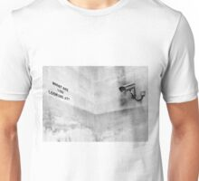 Banksy, What are you looking at? Unisex T-Shirt