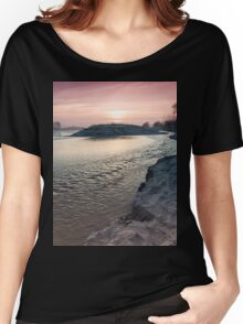sunset on the big river Women's Relaxed Fit T-Shirt