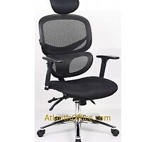 9% off on Wave Simplicity Posture Chair by atlantisofficee