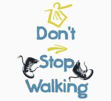 Don't stop walking buen camino Kids Clothes
