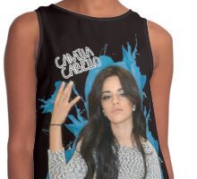 CAMILA CABELLO FROM FIFTH HARMONY CUTE PHOTO Contrast Tank