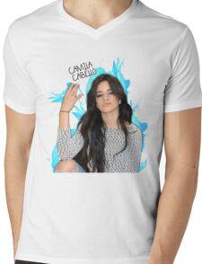 CAMILA CABELLO FROM FIFTH HARMONY CUTE PHOTO Mens V-Neck T-Shirt
