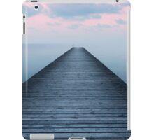 Sunset on the old pier iPad Case/Skin