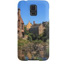 The Water of Leith with Well Court (Left) & Dean Village (Right) Samsung Galaxy Case/Skin
