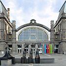 Railwaystation Oostende Belgium by Arie Koene