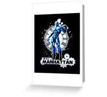 Doctor Manhattan Greeting Card