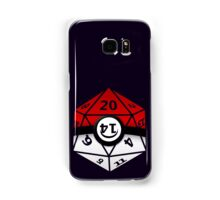 Pokeball D20 Samsung Galaxy Case/Skin