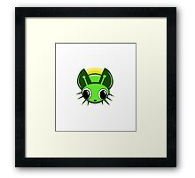 Transparent Firefly Framed Print