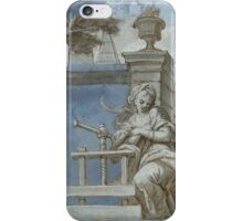 SOUTH GERMAN, CIRCA  Allegory of the art of printing iPhone Case/Skin