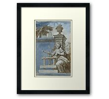 SOUTH GERMAN, CIRCA  Allegory of the art of printing Framed Print